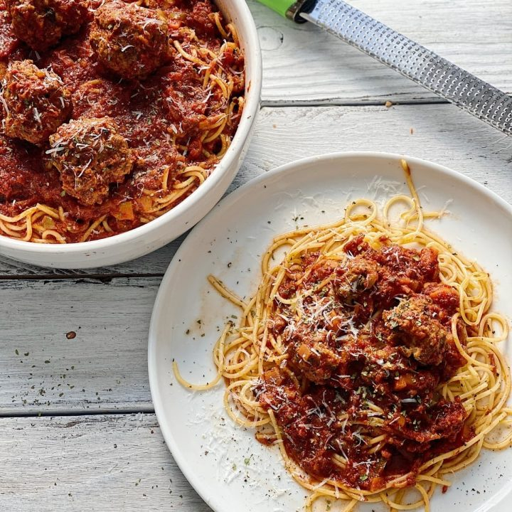 Classic Homemade Spaghetti and Meatballs